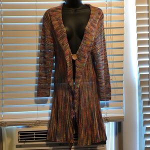Kaktus knit multicolor shawl M